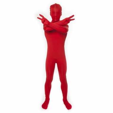 Kinder second skin rood suit
