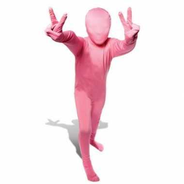 Kinder second skin roze suit