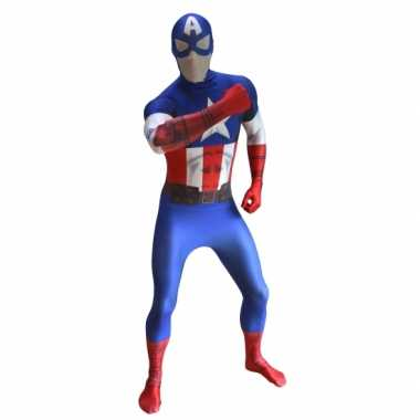 Second skin Captain America suit