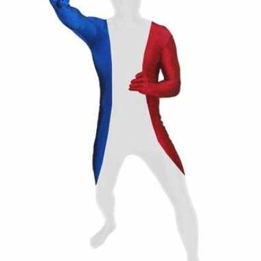 Second skin Franse vlag suit