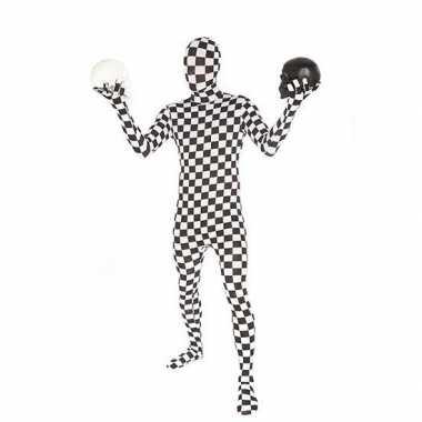 Second skin geblokt suit