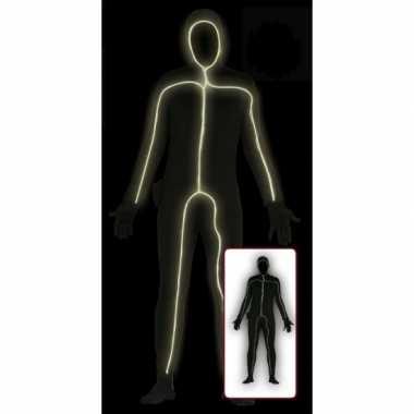 Second skin  Lichtgevende bodysuit volwassenen