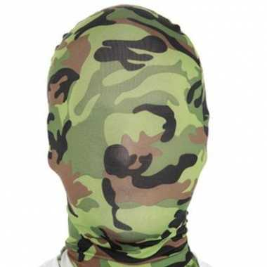 Second skin maskers camouflage suit