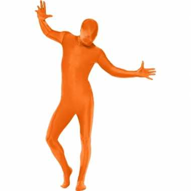 Second skin suit oranje