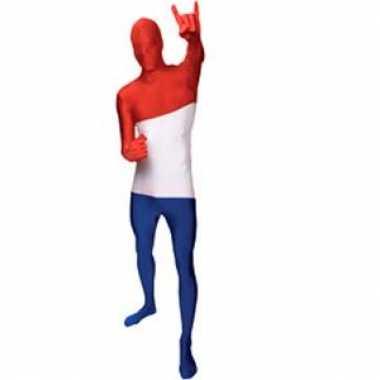 Second skin vlag Nederland suit